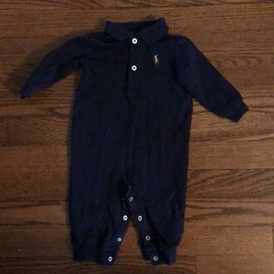 Navy boys coverall